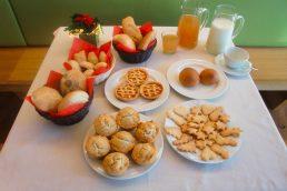 Una splendida colazione all'Agritur Anselmi