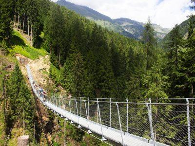 Ponte Sospeso in Val di Rabbi